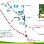 Faughs Parking Map